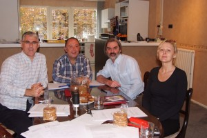 First meeting in the Hague, Netherlands