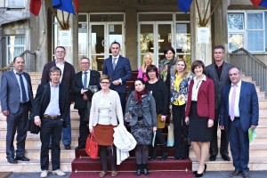 International training meeting  sponsored by ECO and organised by surgeon Radu Spataru, Bucharest, Romania